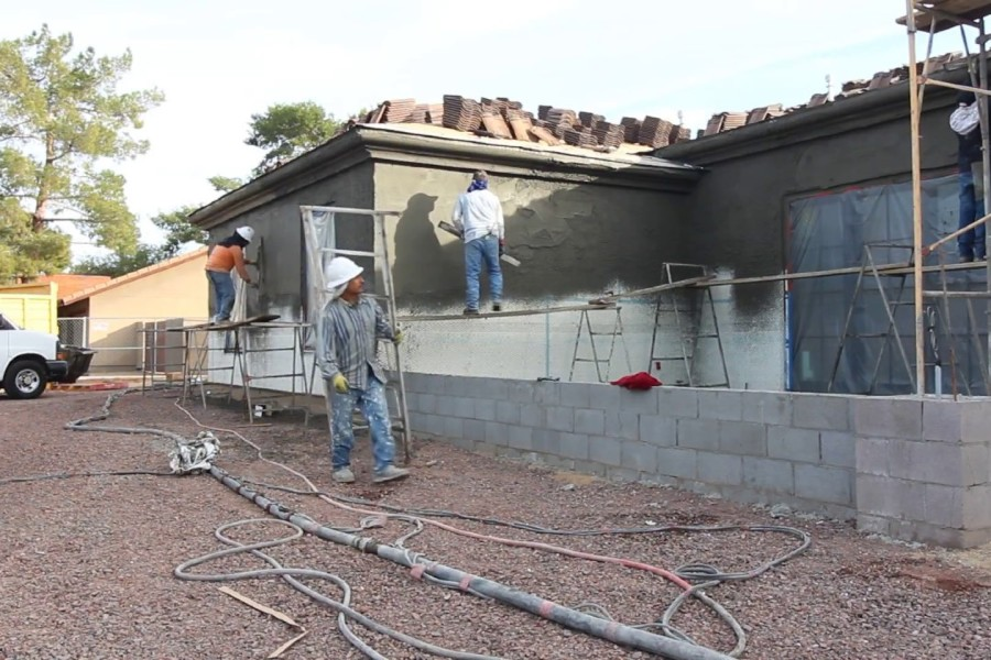 residential stucco